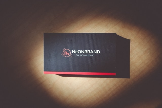 Example of Branded Business Cards