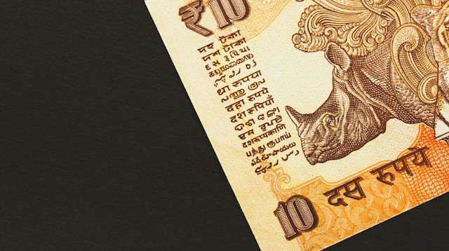 Business Finance 10 Rupee Note