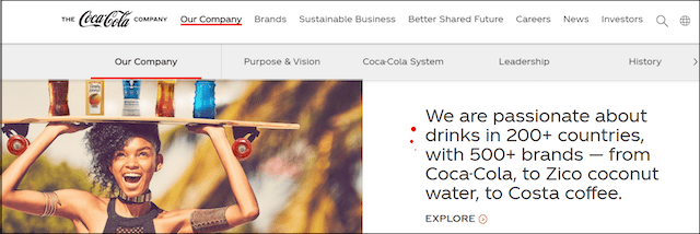 Coca Cola Website Claiming Business In 200 Countries Min