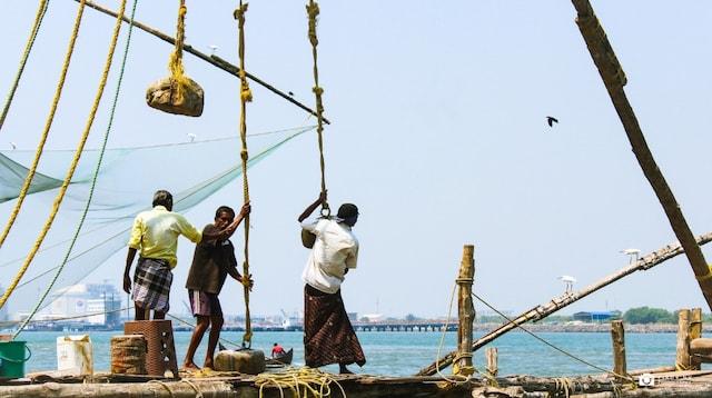 Domain Name System Men on Fishing Boat