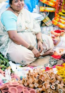 Government Loan Scheme Woman in Market