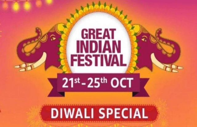 Great Indian Festival Diwali Advertisement