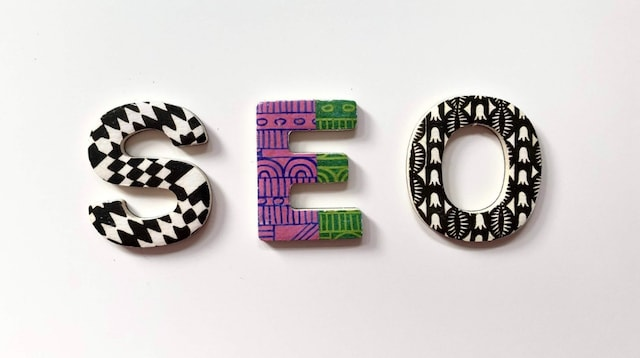 How SEO Works Letters Spelling Out SEO