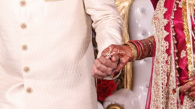 Venture Capital Financing Couple in Marriage Ceremony