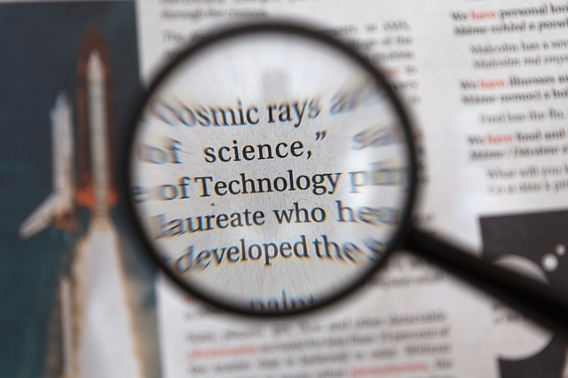 Small Business Search Engine Optimization Words Magnified