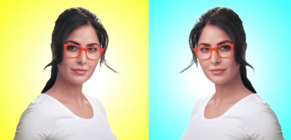 Lenskart 3D Try On app modeled by Katrina Kaif