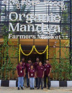 Startup competition winner Organic Mandya farmer's market