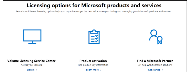 Microsoft Licensing Options