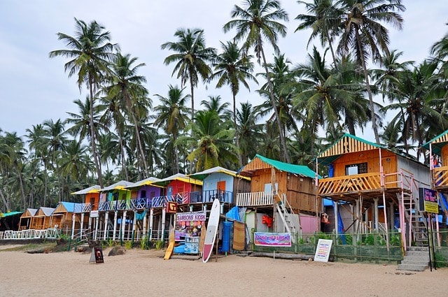 Operational Plan Row of Beach Rentals
