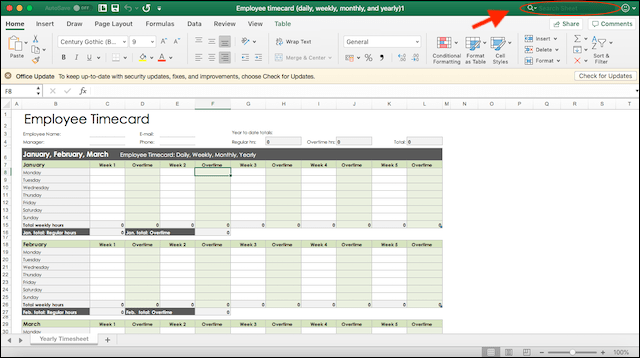 Payroll Management System Excel