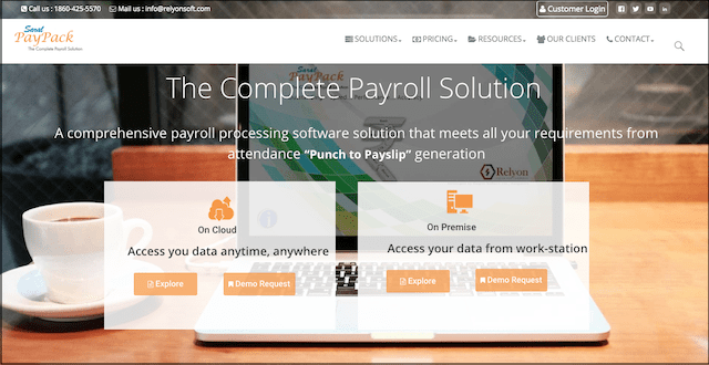Payroll Management System Saral Paypack