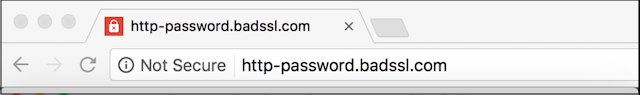 Redirect HTTP to HTTPS Not Secure URL