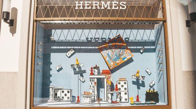 Retail Marketing Hermes Shop Window