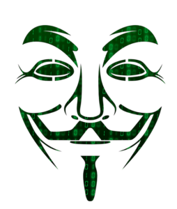 Security Testing Graphic of Hacker Mask
