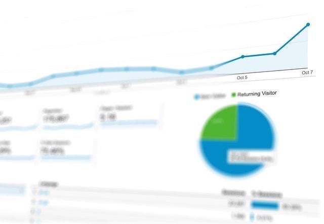 Strategic Planning Analytics Dashboard on Screen