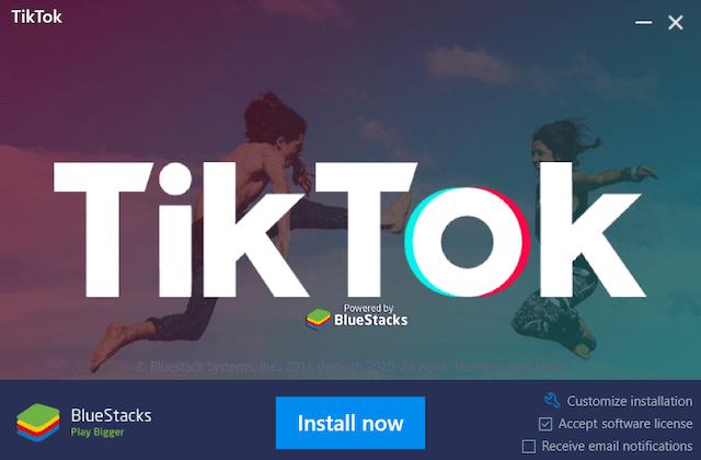TikTok Installer Page