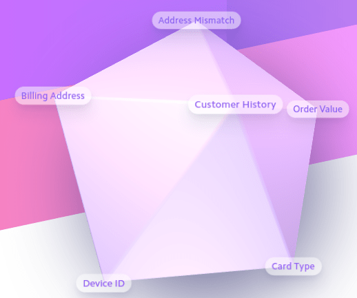 3-dimensional design from Stripe website
