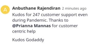 Anbuthane Rajendiran EXPAND 2021 comment