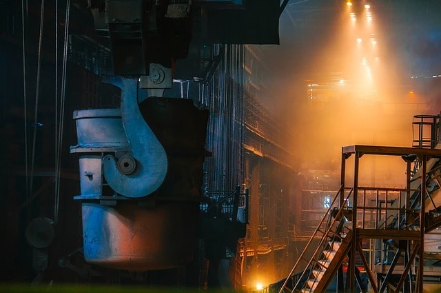 Business Growth Steel Manufacturing Plant