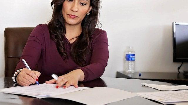 Business Process Outsourcing Woman Working