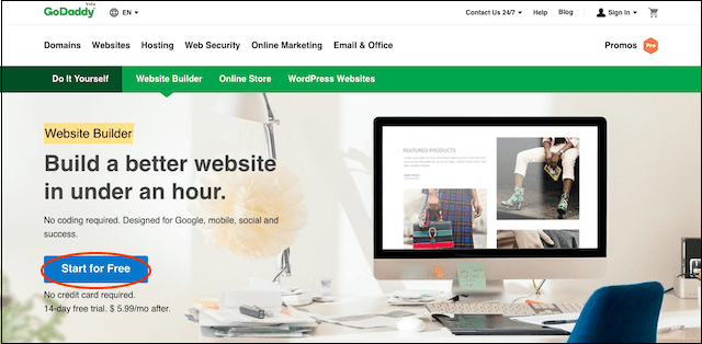 Create a Manufacturing Website GoDaddy Website Builder Signup