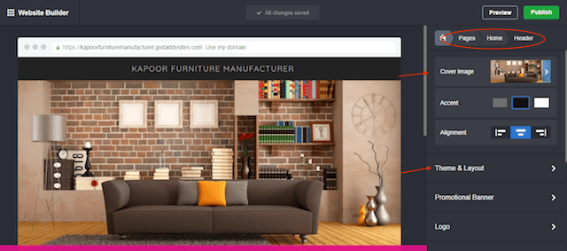 Design a Website Customise Your Home Page
