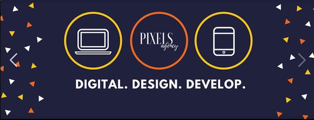Developer Tools Pixels Agency Flyer