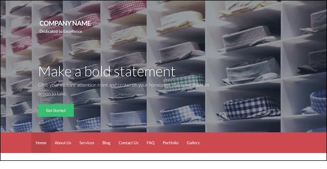 eCommerce Website Templates Activation WordPress Theme