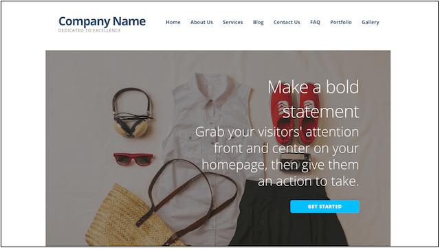 eCommerce Website Templates Ascension WordPress Theme