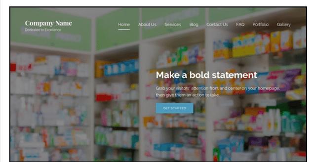 eCommerce Website Templates Lyrical WordPress Theme