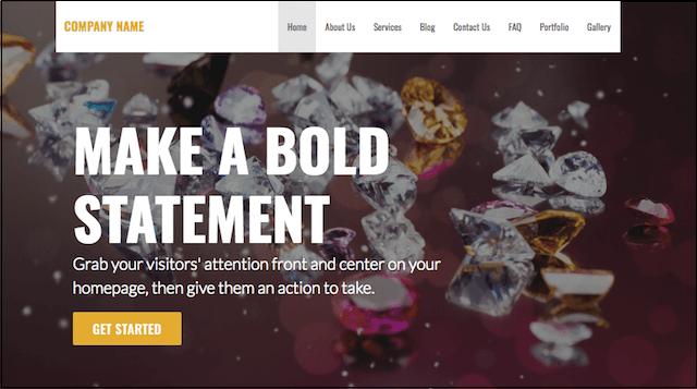 eCommerce Website Templates Stout WordPress Theme