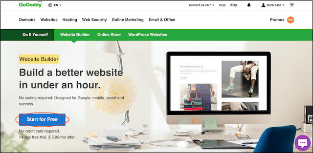 How to Build Your Own Website GoDaddy Start Page