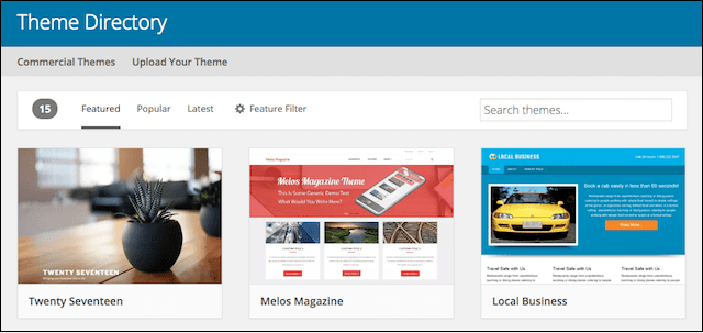 How to Make a Blog WordPress Theme Directory
