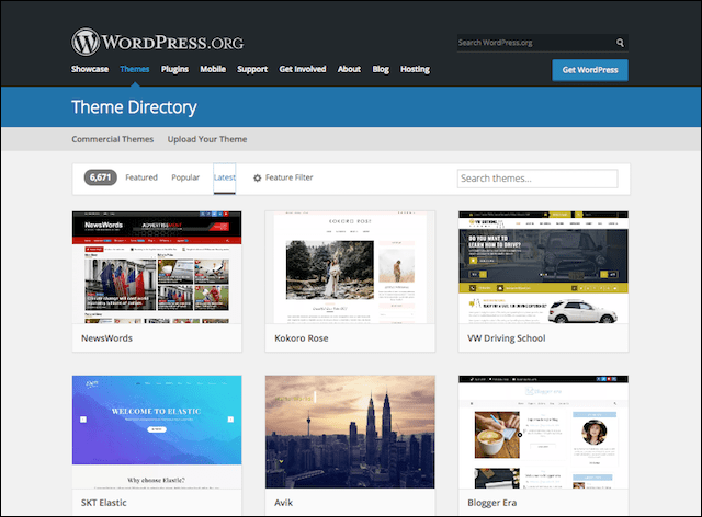 How to Make a WordPress Website Themes