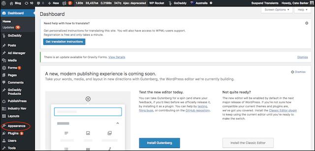 How to Use WordPress Dashboard