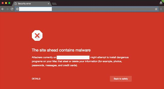 What Is Malware Chrome Malware Warning