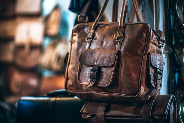 SME Business Loan Leather Bag