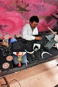 Lavish artisan at work