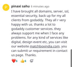 Pinaxi Sahu EXPAND 2021 India comment