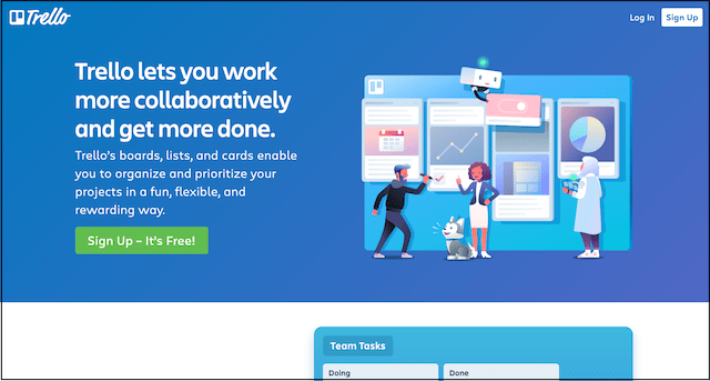 Project Management Tools Trello