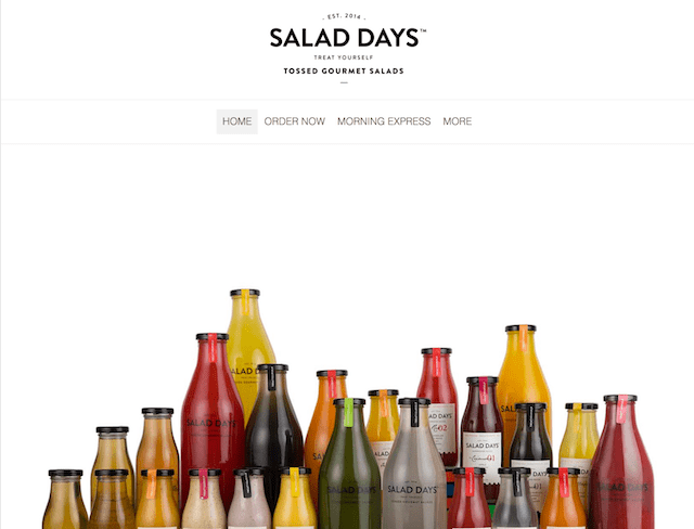 Salad Days Website