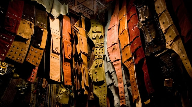 Search Engine Marketing Leathergoods Display