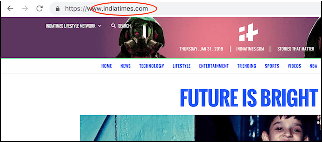 Setting Up a Website India Times