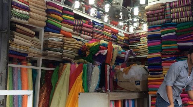 Shopping Cart Fabric Shop