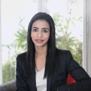Upma Kapoor Teal and Terra