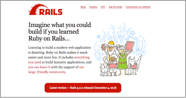 Web Development Tools Ruby on Rails