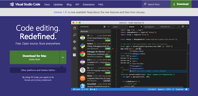 Web Development Tools Visual Studio Code