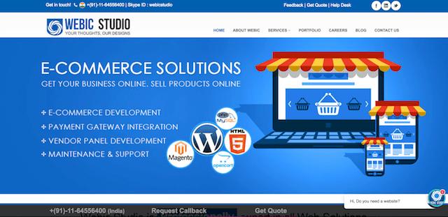 Webic Studio Website