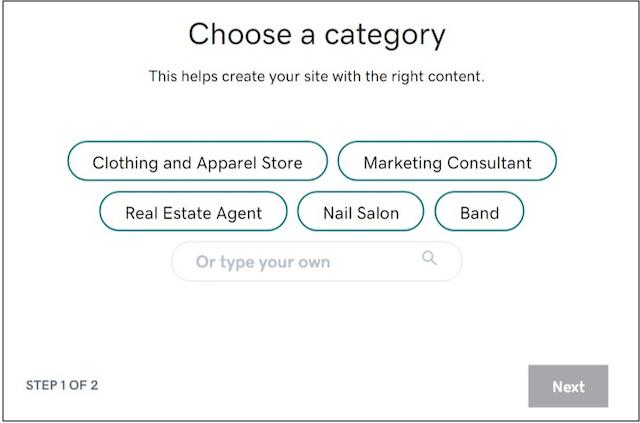 Websites + Marketing step one