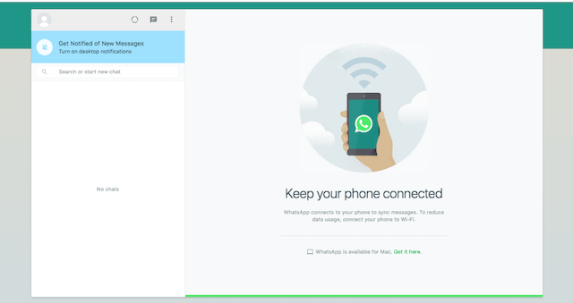 WhatsApp Business Account Desktop